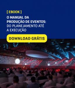 O manual da produção de eventos